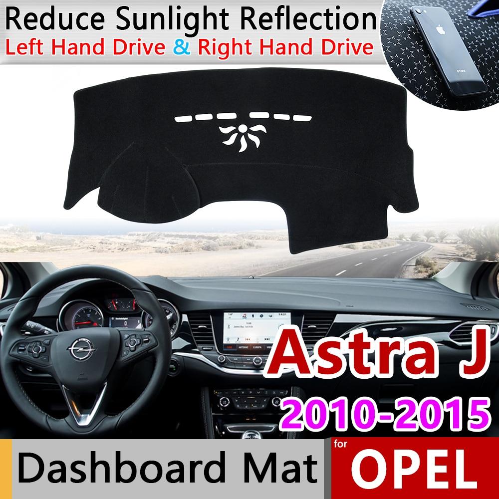 For Opel Astra J 2011 2012 2013 2014 2015 Anti-Slip Mat Dashboard Cover Pad Sunshade Dashmat Anti-UV Accessories Vauxhall Holden