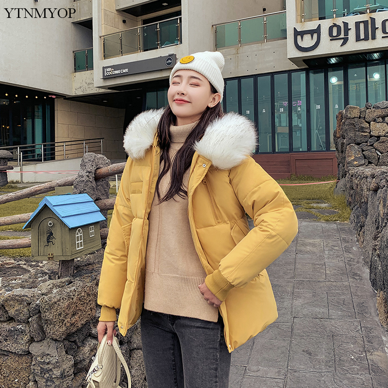 YTNMYOP Winter Women 39 s Clothing 2019 New Casual Winter Parka Female Thick Warm Hooded Jacket Coat Regular Clothing Outerwear in Parkas from Women 39 s Clothing