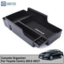 EDBETOS автомобиль подлокотник окно центральной консоли отделение для хранения перчаток Организатор Вставка лоток для Toyota Camry 2012-2017