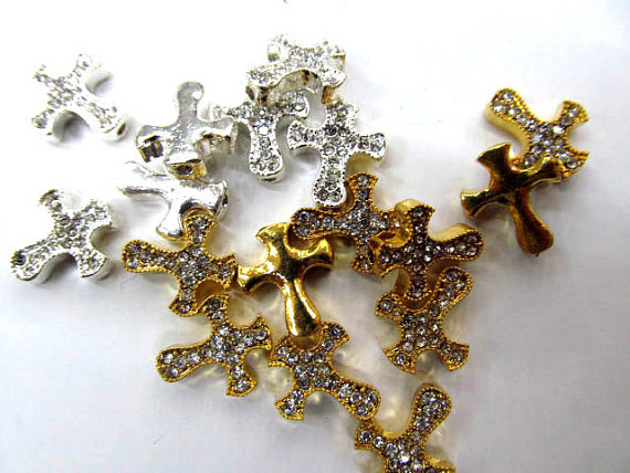 12x14 30x35mm 100pcs sideway cross metal spacer carved silver gold balck mixed crystal rhinestone jewelry beads вертлюг helios тройной 12x14 14кг 10шт hs zpy 1007 12x14