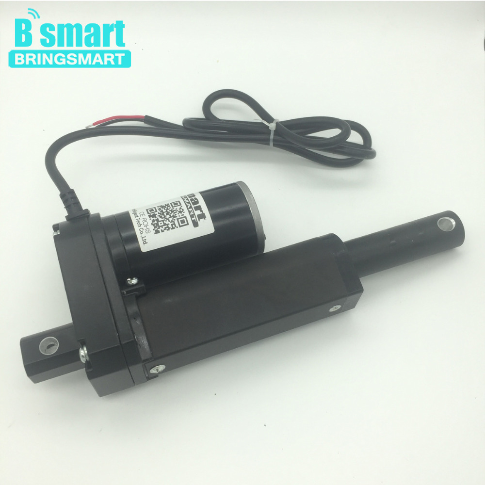 Wholesale Stroke Length 12 Inch (300mm) 12V 24V 36V 48V Electric Linear Actuator 500-3500N 3-30mm/s With Stroke Actuator wholesale 12v linear actuator 150mm 6 inch stroke 7000n 700kg load waterproof 36v tubular motor 48v mini electric actuator 24v