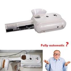 High Grade Elektrische Zigarette Automatische Zigarette Roll Maschine Rolle DIY Rauchen Werkzeug 5-8 minuten für 50 zigaretten