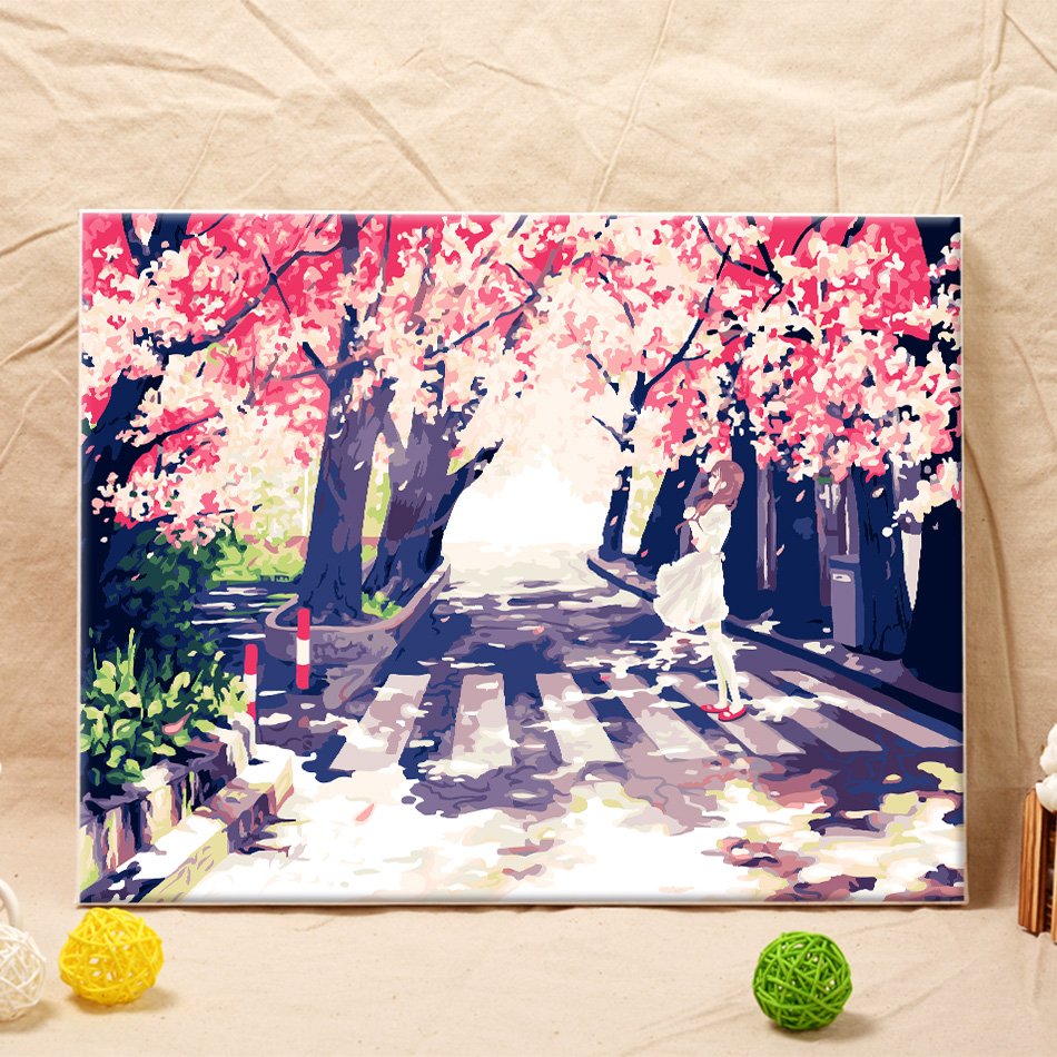 Diy Canvas Painting Online Get Cheap Painting Frame Diy Aliexpresscom Alibaba Group