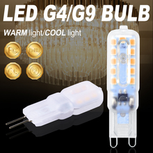Corn Bulb G9 LED 220V G4 3W 5W Bombilla g9 Lamp Dimmable Light 2835 SMD Spotlight Chandelier Replace Halogen