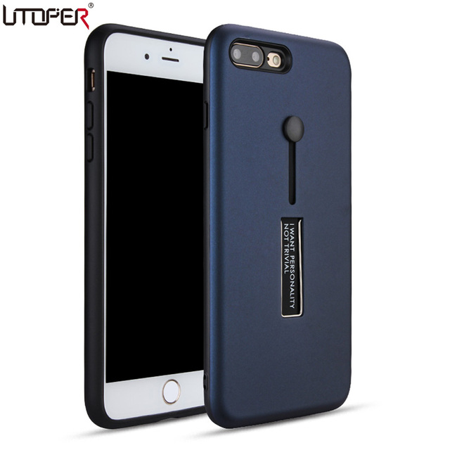best service e984f 05c86 US $3.09 30% OFF|UTOPER For iPhone 8 Case 4.7