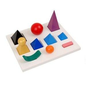Язык Монтессори-прочный Грамматический символ С Вырезанным поддоном, инструмент для раннего развития детей, деревянная игрушка для малыше...