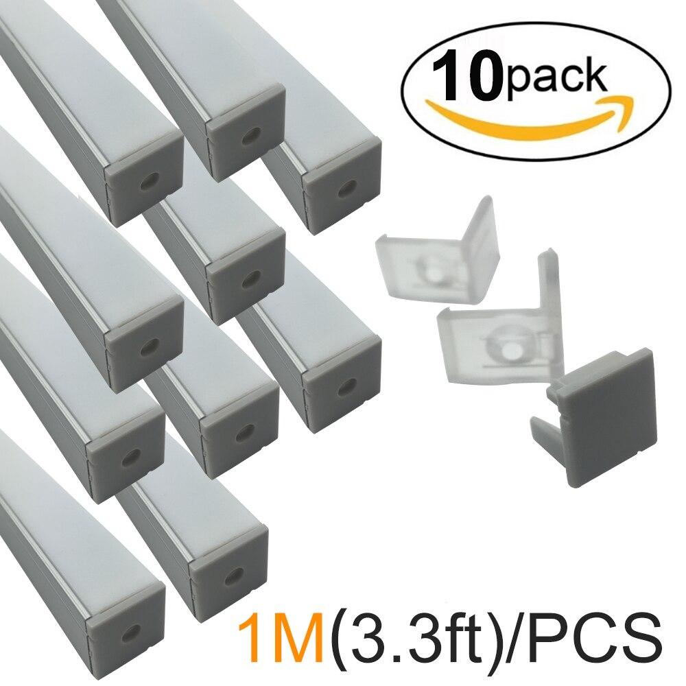 10sets/lot 10pcsx1M/3.3ft Silver 12mm Corner Mounting <font><b>LED</b></font> <font><b>Aluminum</b></font> Channel Corner <font><b>Aluminum</b></font> <font><b>LED</b></font> Profile