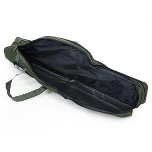 Image 5 - SEWS LEO Portable Fishing Bags Folding Fishing Rod Carrier Canvas Fishing Pole Tools Storage Bag Case Fishing Gear Tackle 100c