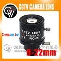 5 pçs/lote 9-22mm Varifocal lente Íris Fixa Infra Vermelho CCTV Zoom Da Câmera CCTV Board Lens Para câmeras de CFTV câmera