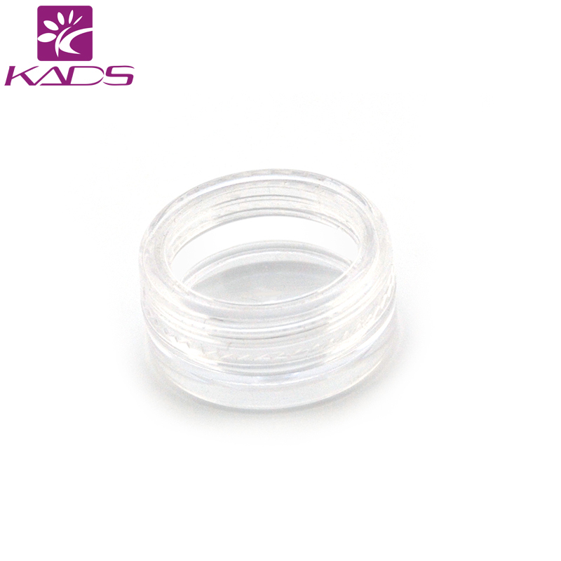 HOTSALE 100PCS/LOT 3g cream bottle clear empty plastic cream bottle nail art glitter dust powder case cream pot hotsale 100