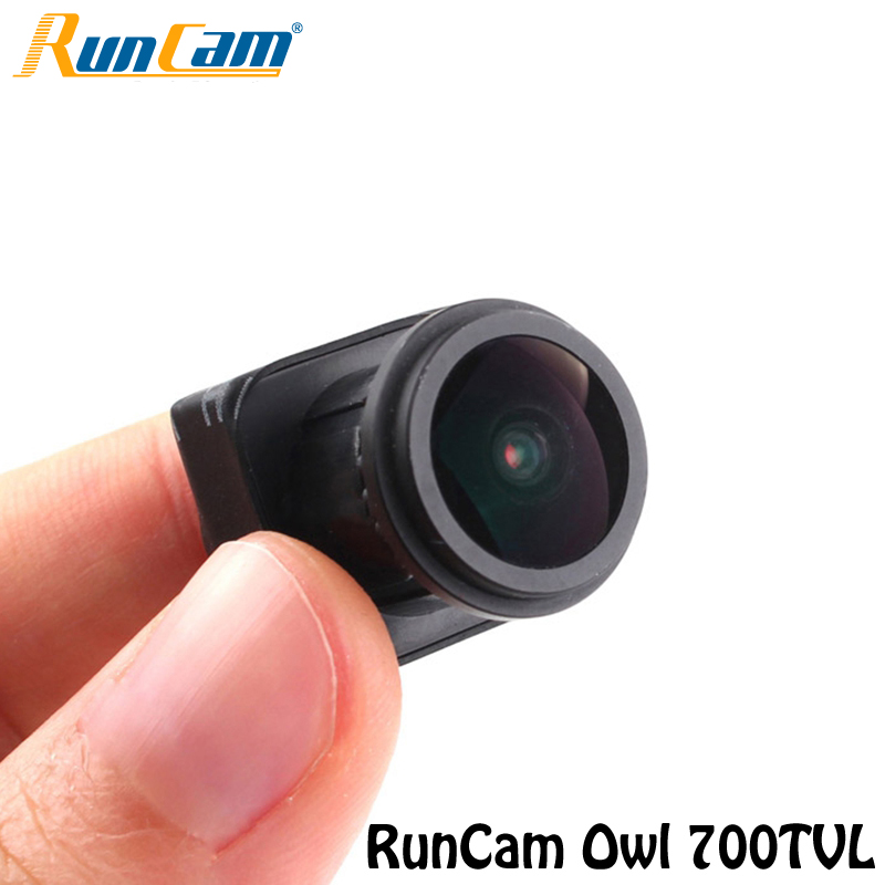 Hot Sale For RunCam Owl 700TVL Night Vision Starlight FPV Camera 0.0001 Lux FOV 150 free shipping runcam owl camera 1 2 700tvl starlight 0 0001lux fpv quadcopter mini camera night vision camera with cable