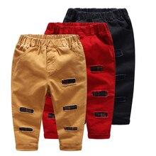 Bébé Garçons Pantalon De Mode Plaid Patchwork Pantalon Printemps Été Bas Enfants Enfants Pantalon pour 3-7Y