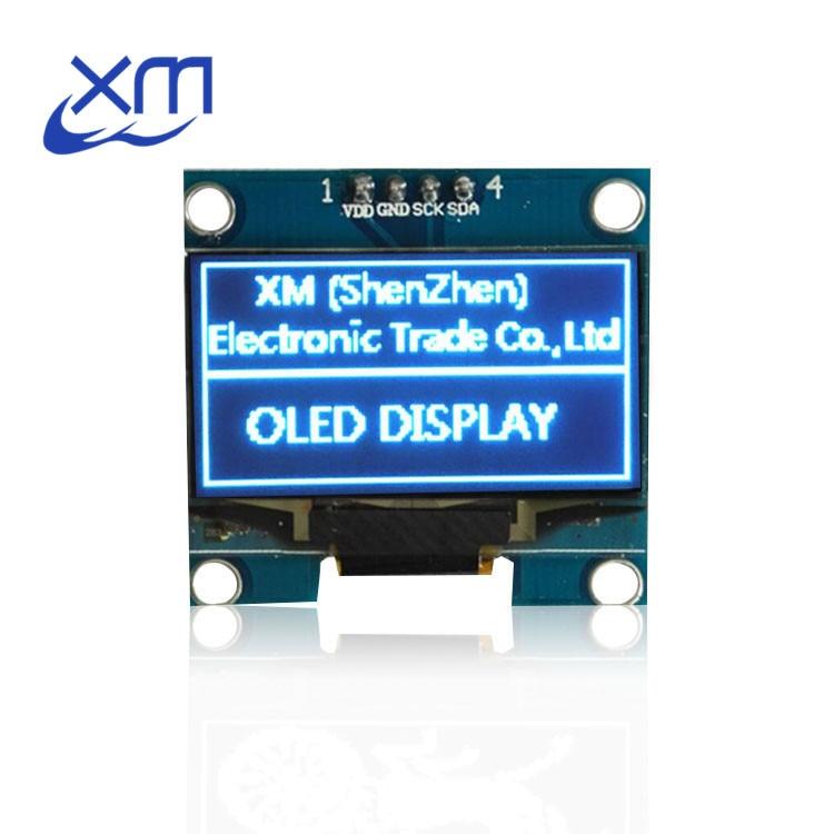 5PCS 1.3 OLED module blue color IIC I2C 128X64 1.3 inch OLED LCD LED Display Module For 1.3 IIC I2C Communicate D12 for Arduino