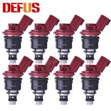 DEFUS 1/4/6/8/12/20PCS Fuel Injector 16600-RR544 High Quality 740cc/min For Nismo Silvia Skyline SR20 S13-S15 SR20DET KA24DE NEW все цены