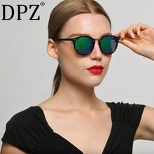 ab724f2750 2018 DPZ Vintage Ladies Gradient Sunglasses Women Brand Designer uv400  rayeds Sun Glasses Female Outdoor Sport Goggles Oculos