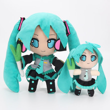 Hatsune Miku Vocaloid Plush Toy Stuffed Soft Dolls Smile Doll Baby Toys Great Gift