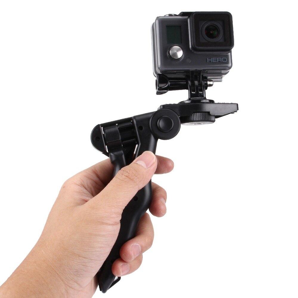 PULUZ Grip Plegable trípode con adaptador y tornillos para GoPro - Cámara y foto - foto 2