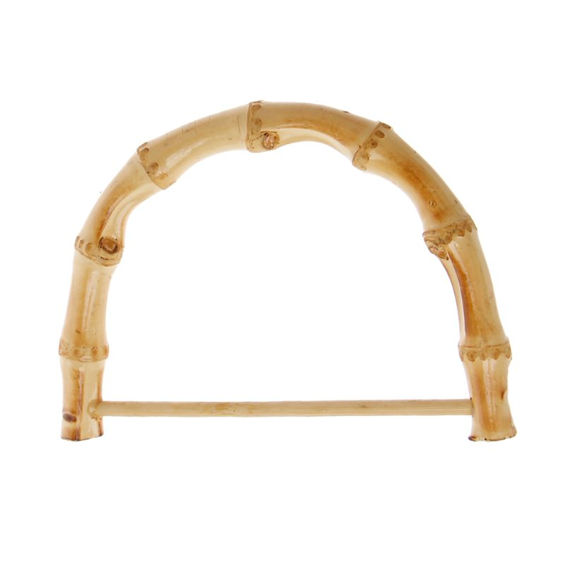 Luggage & Bags New 1 Pc Bamboo Rattan Purse Hanger Bag Handle Diy Craft Handbag Replacement Accessories