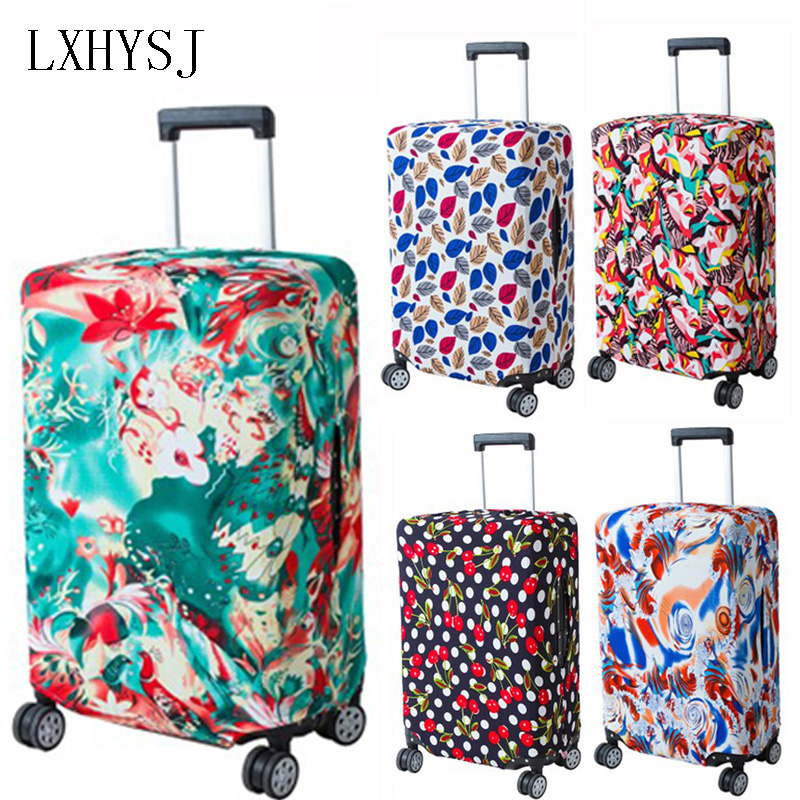 LXHYSJ Baggage Cover Elastic Luggage Cover Luggage Protective Covers Suitable For 18-30 Inch Suitcase Case Travel Accessories