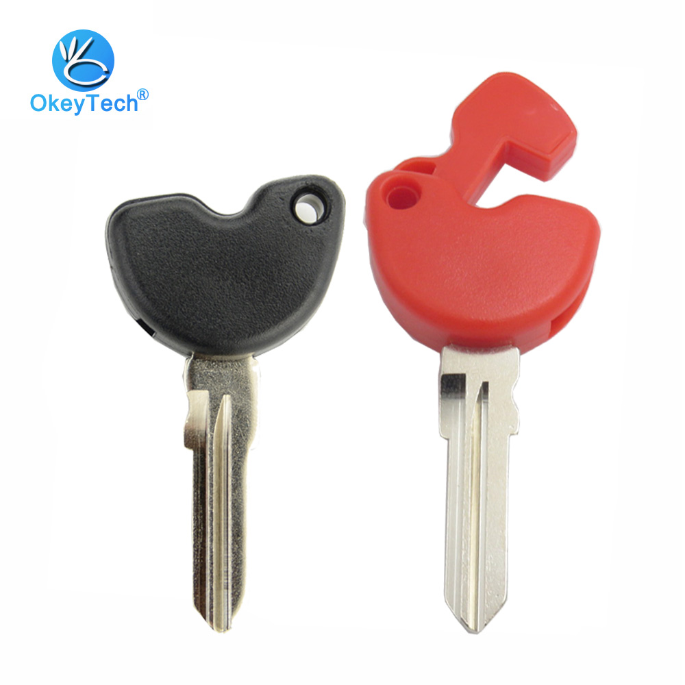 OkeyTech For Vespa Enrico Piaggio GTS300 946 LX150 Fly 125 150 RA1 3vte Gts 200 Moto Bike Motorcycle Key Shell Installed Chip