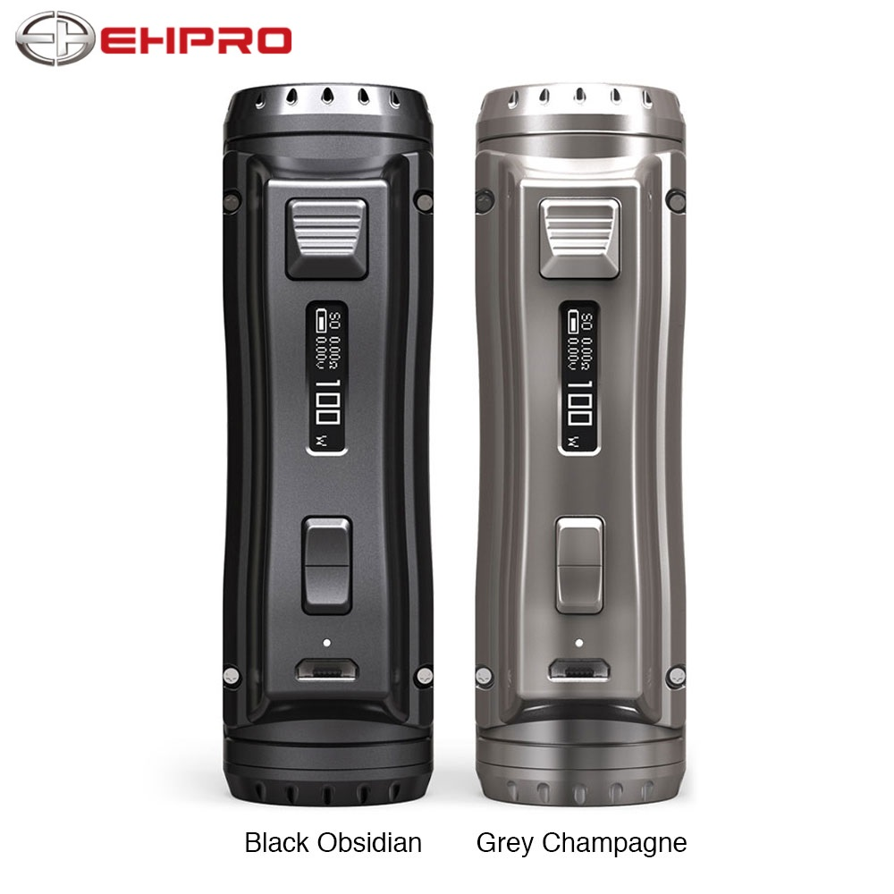 Original Ehpro Cold Steel 100 120W TC Box MOD  0.0018S Ultrafast Firing Speed & Online Software Update Ecig Vape Mod Vs Drag 2