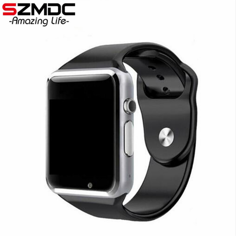 SZMDC A1 Smart Watch With Passometer Camera SIM Card Call Smartwatch For Huawei Xiaomi HTC Android Phone Better Than GT08 DZ09