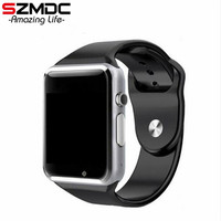 SZMDC A1 Smart Watch With Passometer Camera SIM Card Call Smartwatch For Huawei Xiaomi HTC Android
