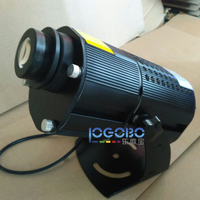 Outdoor Waterproof Image Rotating or Static 40W Led Gobo Projectors for Advertising Images or Logo with Custom Glass Gobo Slide