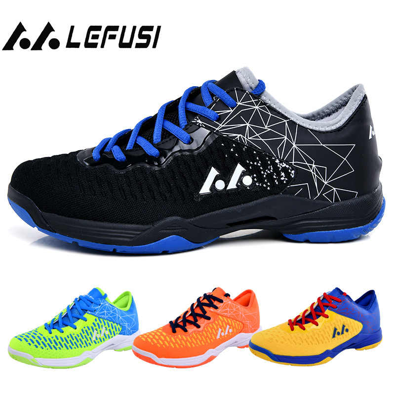 Professional Badminton Shoes 2019 Breathable Anti-Slippery Sport Shoes for Men Women Sneakers Training Tennis Sneakers