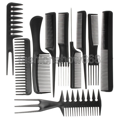Aliexpress Com Buy 10pcs Set Professional Salon Combs