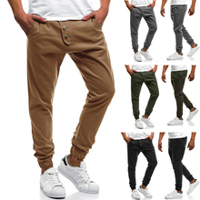 2019 Brand Mens Pants Fashions Men Summer Leisure Causal Harem Hip Hop Chinos Trousers Joggers Cotton Sweatpants