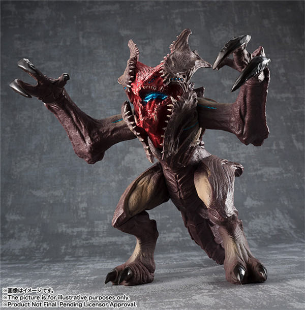 Pacific Rim Uprising Kaiju Raijin Action Figure 1/8 scale painted figure Toy Brinquedos