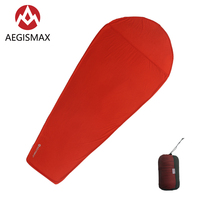 AEGISMAX Thermolite Warming 5/8 Celsius Sleeping Bag Liner Outdoor Camping Portable Single Bed Sleeping Sheet Lock Temperature