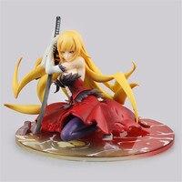 Monogatari Nisemonogatari Oshino Shinobu Anime Figure Weapon Ver. PVC Anime Sex Doll Gift Children Action Doll Model Hot Toys PM