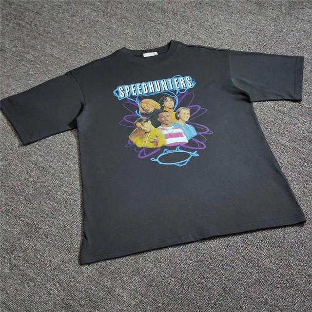 Oversized 18FW SPEEDHUNTERS T shirt Men