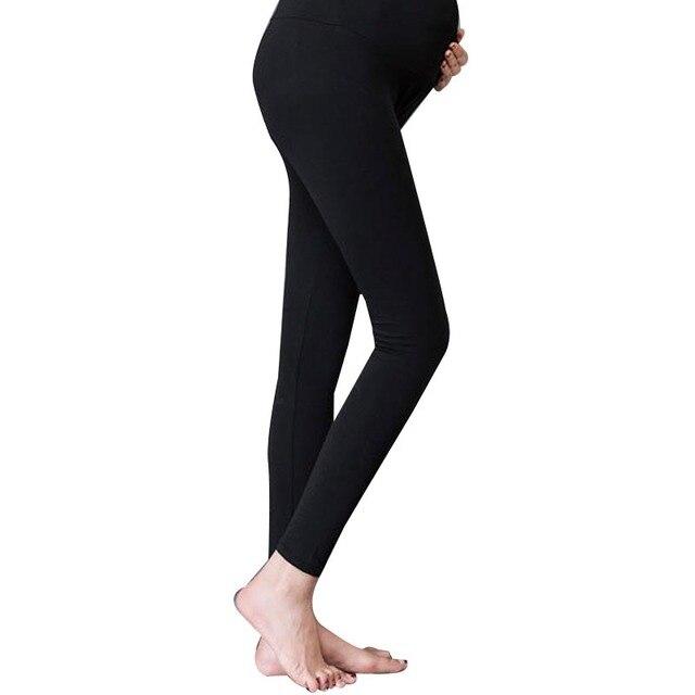 Беременность материнство Одежда Беременные Женщины Хлопок Брюки Стрейч Брюки Леггинсы Для Беременных Одежда