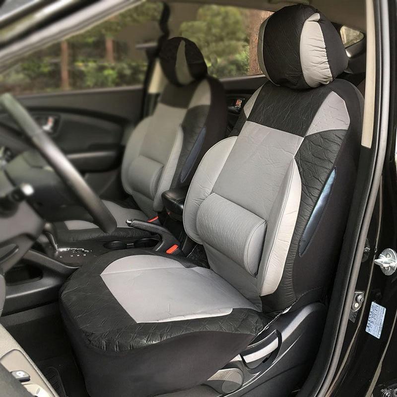 Couverture de siège de voiture sièges cas pour daewoo gentra lacetti lanos matiz nexia, porsche cayenne macan de 2018 2017 2016 2015