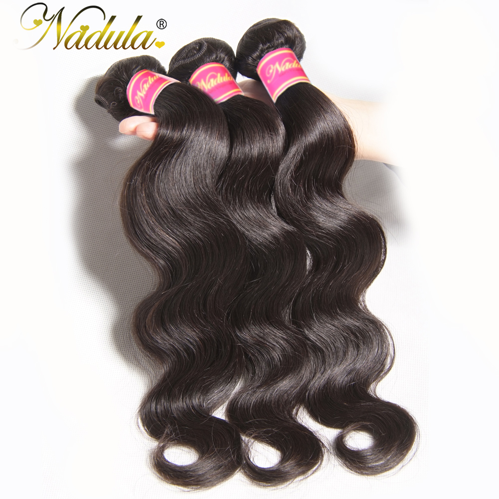 Nadula Hair Products Peruvian Body Wave Hair Weaves 1bundle Can Be Mixed 8 30inch Non Remy