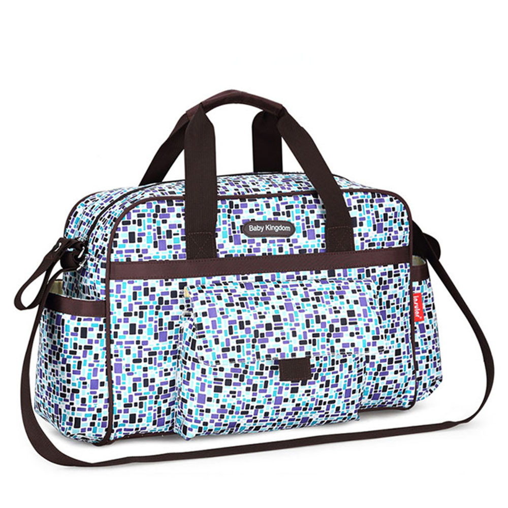 Insular Brand Diaper Bag Colorful-plaid Large-capacity Mummy Handbag Maternity Shoulder Bag Baby Nappy Bags On Stroller