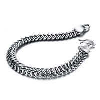 925Sterling Silver Solid Design Sterling Silver Jewelry Pure Silver Bracelet Men Brand Jewelry Acceptable Wholesale