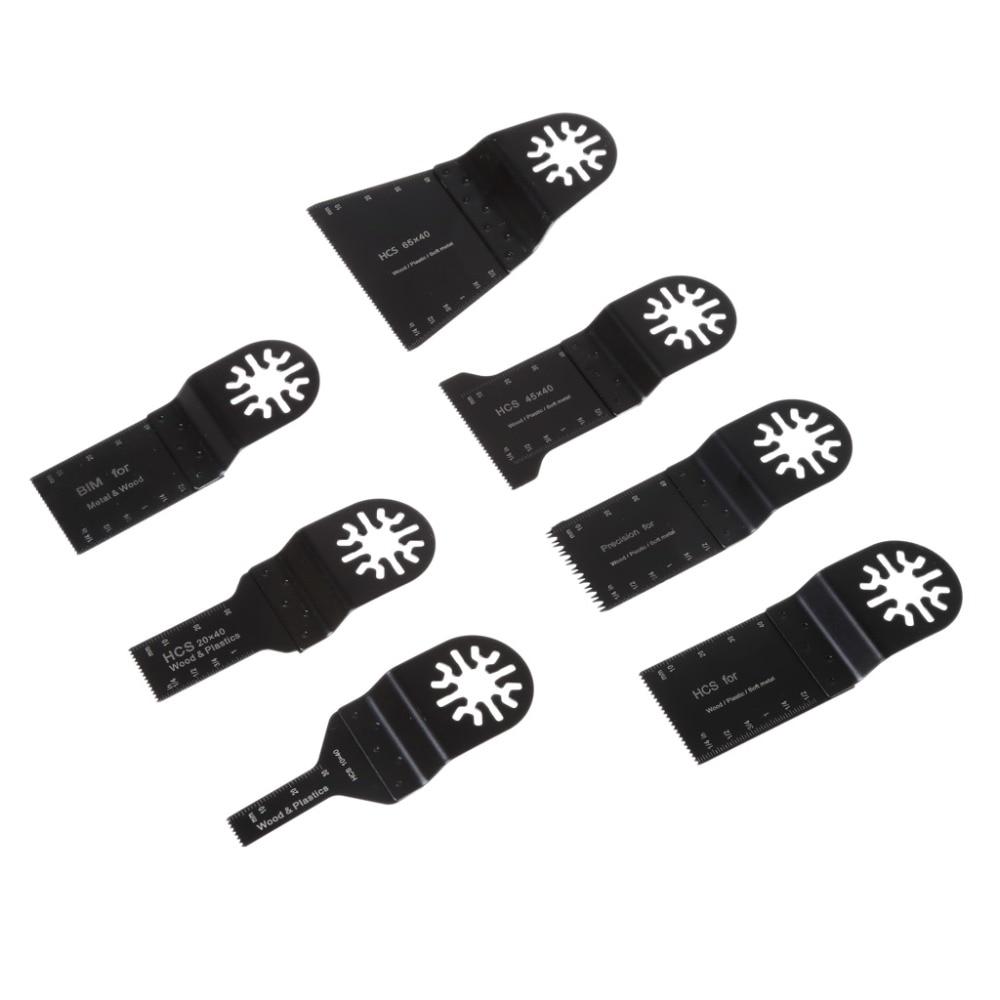 38 Pcs Mix Oscillating Multi Tool Saw Blades For FEIN BOSCH Dremel Makita Skil