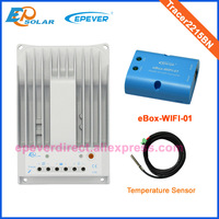 Solar regulator with wifi box function 20A MPPT Tracer2215BN with temperature sensor 20amp