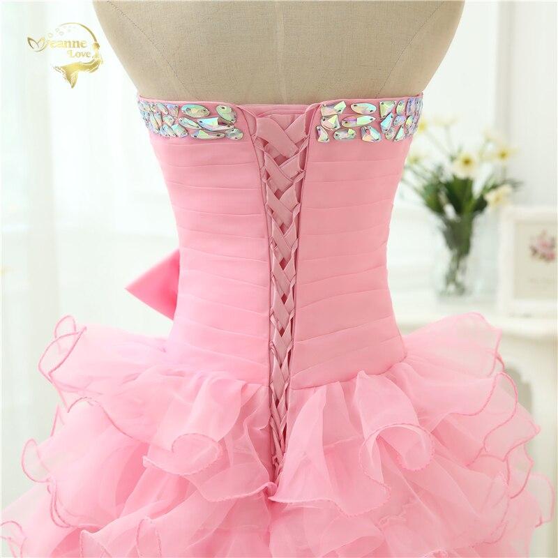 Ζεστό Πώληση Vestido De Festa Curto 2019 Ροζ - Ειδικές φορέματα περίπτωσης - Φωτογραφία 6