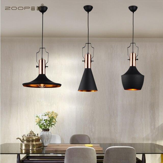 Nordic Anhänger Lichter Für Home Beleuchtung Moderne Hängende Lampe Holz  Aluminium Lampenschirm Led lampe Schlafzimmer Küche Licht 90 260 v E27