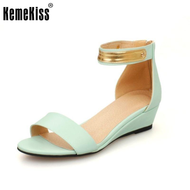 a23863662 Sapatos novos cunhas mulheres moda lantejoulas sandálias doce com tira no  tornozelo salto alto calçados saltos senhora sapatos tamanho 34-39 PC00036