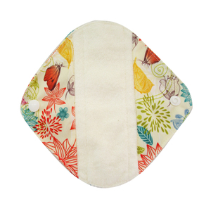 Image 4 - LECY ECO LIFE Health Feminine Hygiene bamboo Panty Liner, Reusable Waterproof Menstrual Cloth Sanitary Pads 17*17cm