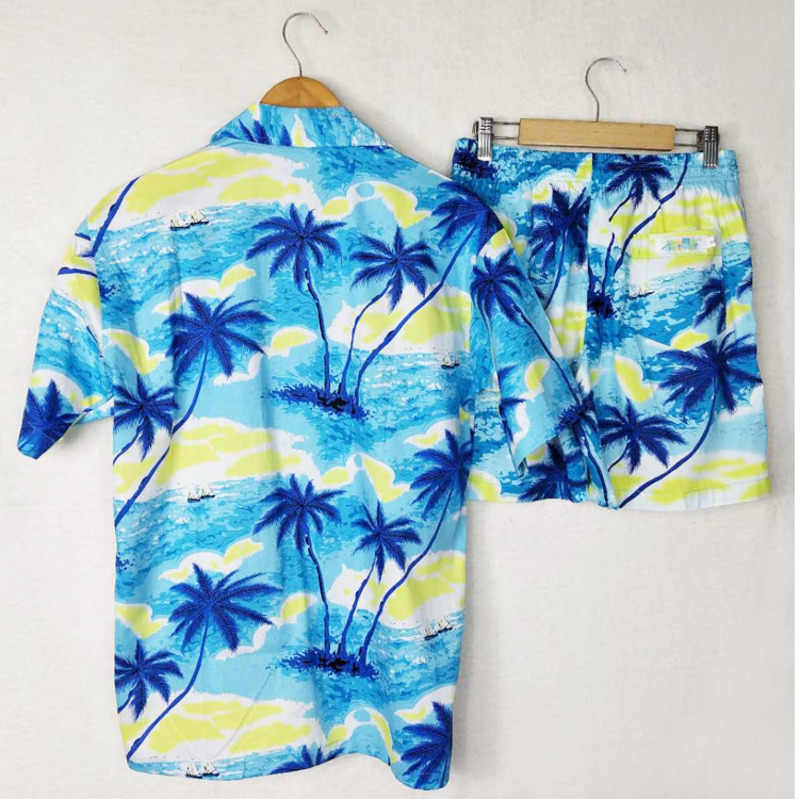 28476a41 Detail Feedback Questions about FDWERYNH Hawaiian Shirts+Shorts Men's  Summer 2 Pieces Sets 3D Trousers Shirt Camisa Masculina Slim Fit Tracksuit  Beach Men ...