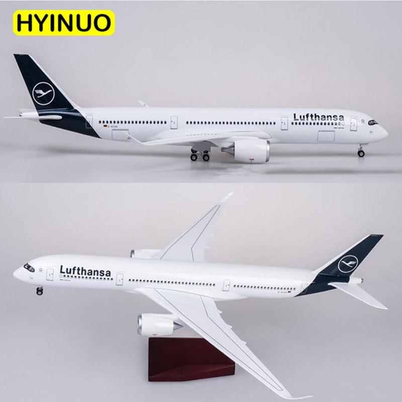 1/142 skala 47CM Flugzeug Airbus A350 Lufthansa Airline Modell W LED Licht & Rad Diecast Kunststoff Harz Flugzeug Für sammlung-in Diecasts & Spielzeug Fahrzeuge aus Spielzeug und Hobbys bei  Gruppe 3