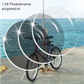 1.56 Photochromic Brown or Gray Progressive SPH range -6.00~+5.50 Max CLY -4.00 Add +1.00~-+3.50 optical lenses for eyewear