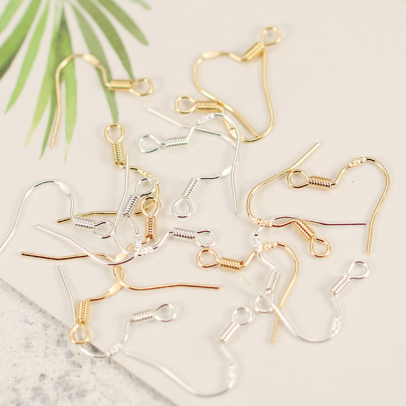 100 Pieces Hypoallergenic Ear Hook Earrings Arel Studs Tag Jewelry Accessories Diy Handmade In Findings Components